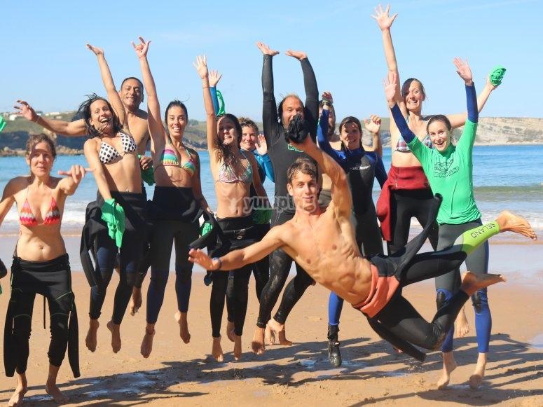 冲浪小组课程