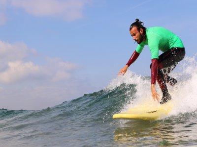 Curso de surf en Suances 5 clases