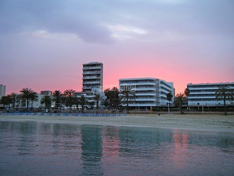 日落在马略卡岛