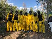 集团准备在比利亚纽瓦德尔帕尔迪洛发动彩弹射击游戏