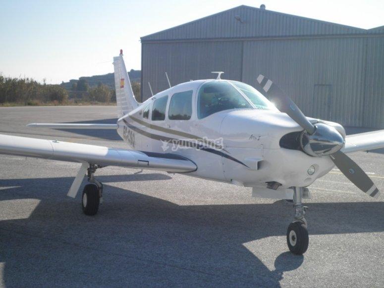 Light aircraft rental