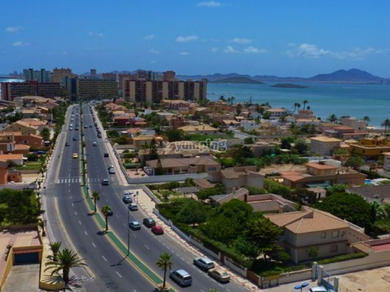 Bird view of Murcia