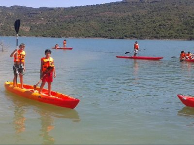 90-min Rent a 3-seater kayak in Rialb