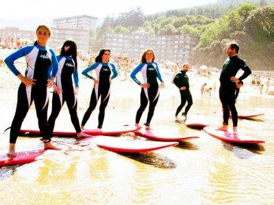 Lokal Surf Bakio Campamentos de Surf