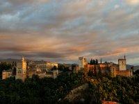 Volar en globo sobre Granada