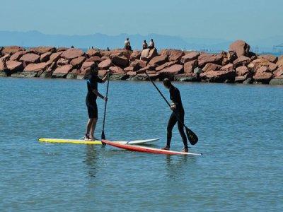 Clase de iniciación al paddle surf en Valencia 2 h