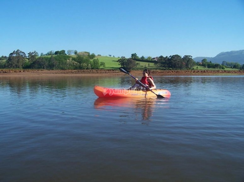 Alquiler de kayak embarcadero de Somo