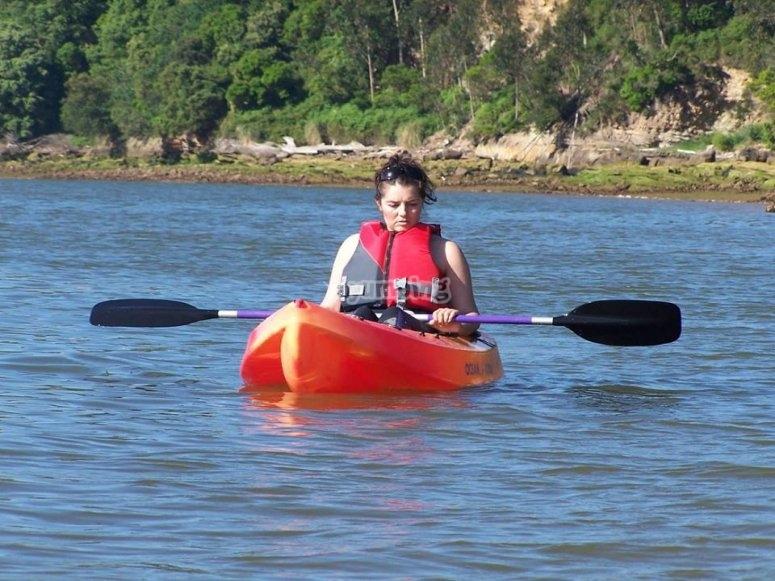 Alquiler de kayak en Somo