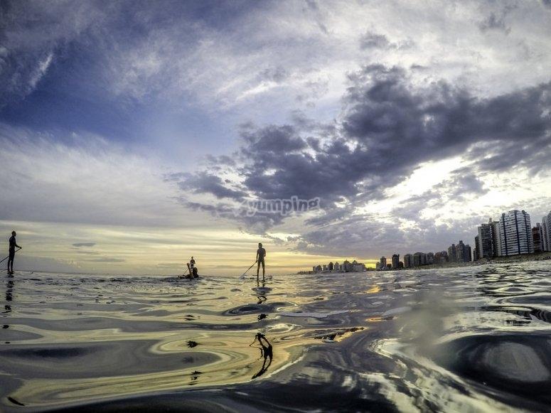 Paddle surf en Gandía