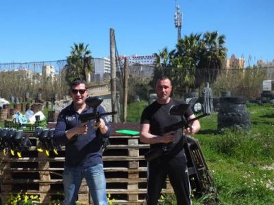 Paintball and Karting in Gandia