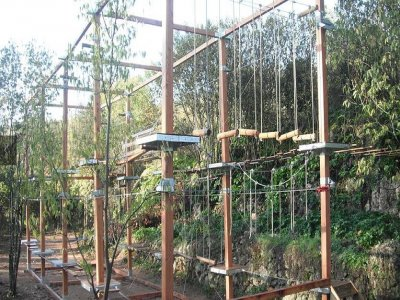 Multiadventure park in Sierra de Hornachuelos