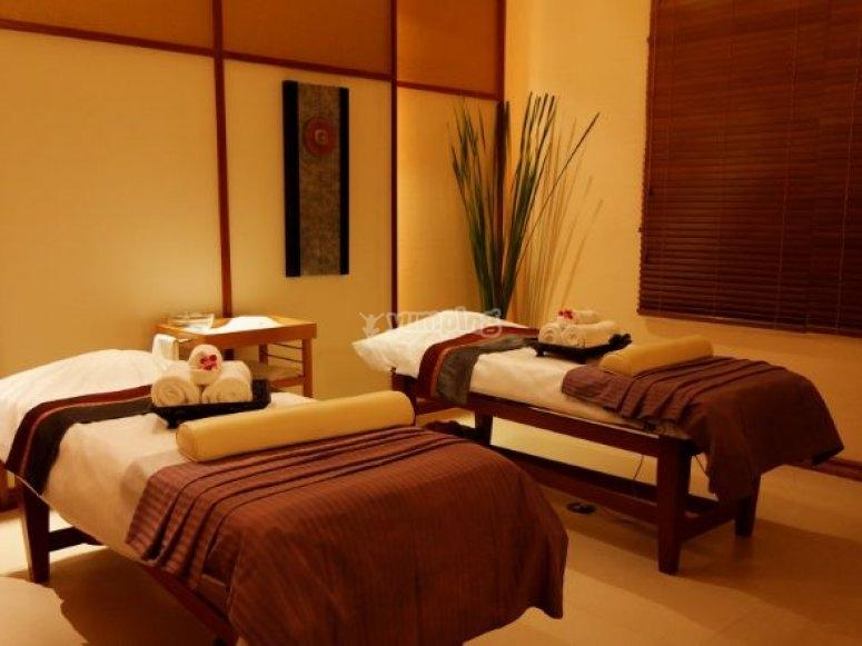 camas de masajes