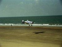Aterrizaje en la playa