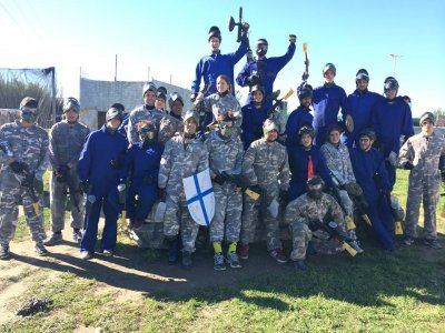 Gioco Paintball e Food a Granada 150 palline