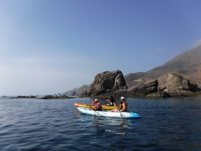 Kayaking Route in Los Escuellos NP Cabo de Gata