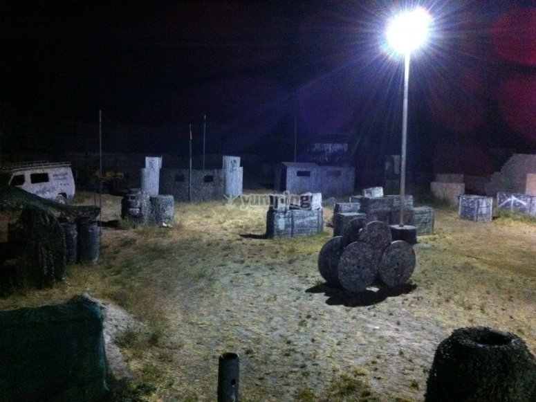 Campo nocturno