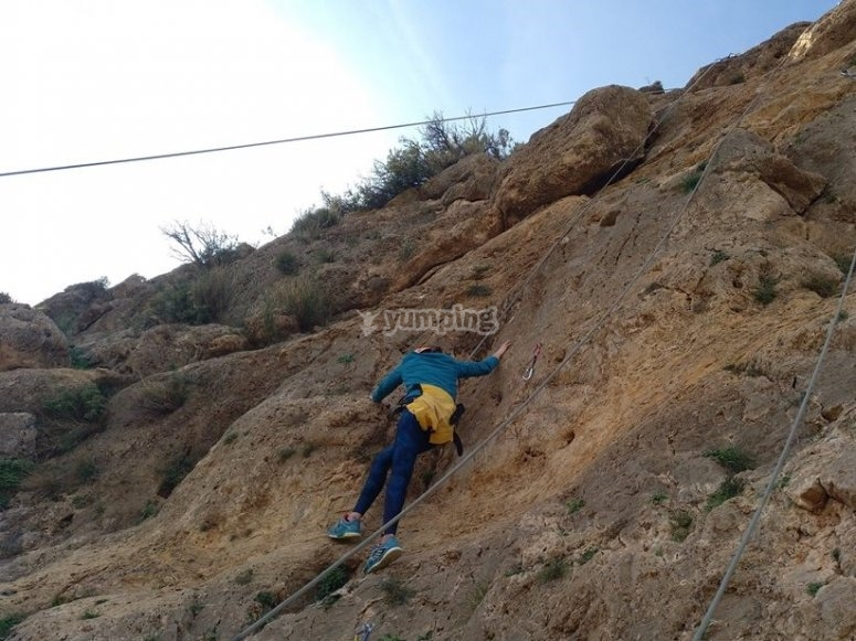 Curso de escalada en Andalucia