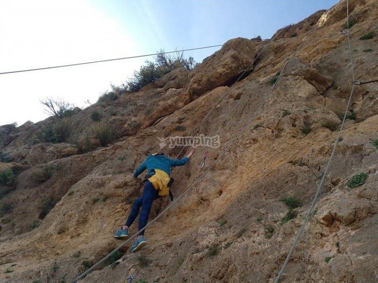Escalada en Roca en Almeria