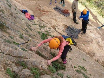 Curso de escalada en roca en Almería