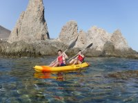 Arrecife de las sirenas en kayak