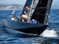 Sailing with our Laser through Galician waters