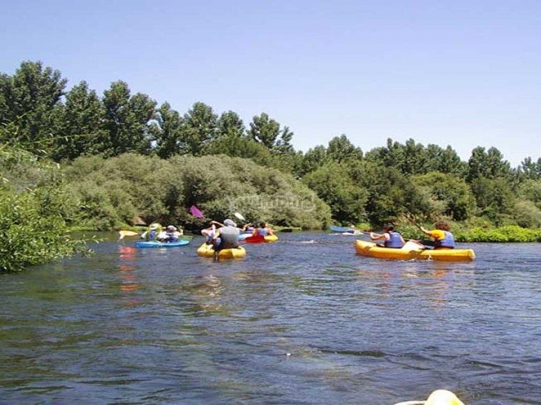 Excursion en el rio Tormes