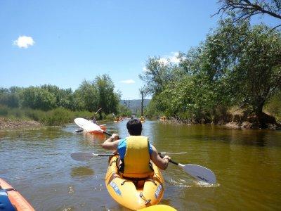 在Cabañeros国家公园租赁皮划艇2小时