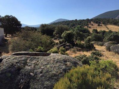 在El Chorro de Navalucillos路线上徒步旅行