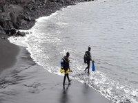 Rumbo a pasar una jornada de buceo en la Isla de La Palma