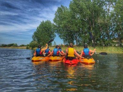 Bullaque河上的皮划艇租赁服务