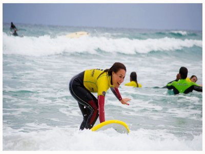 Surf induction course in Cantabria - 10 lessons