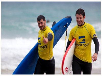 Campamento de surf en San Vicente 5 días