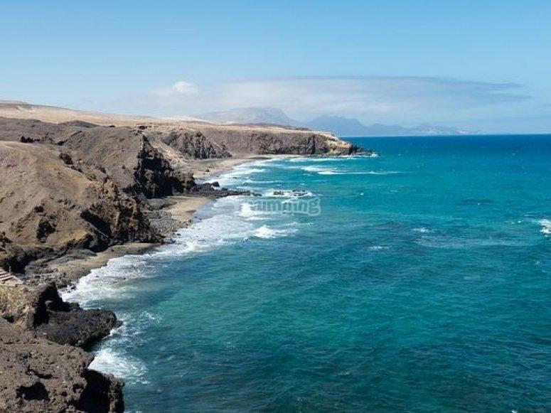 litoral canario.