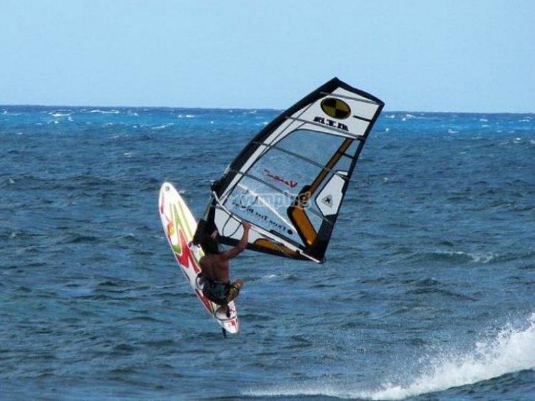 perfeccionando la ola