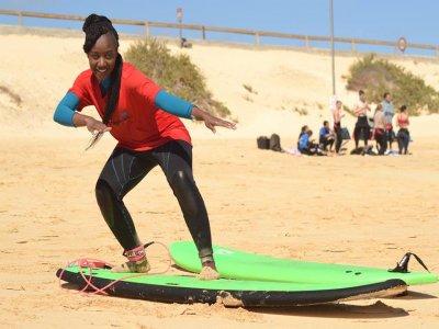 Clase individual de surf en Fuerteventura 2 horas