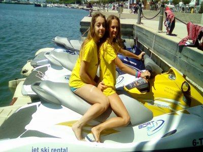 塔拉戈纳的帆伞运动和水上摩托车