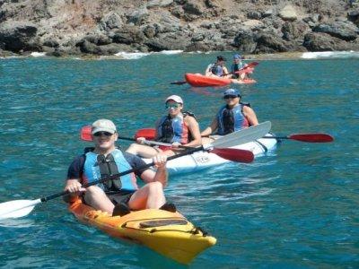 Iniciación Kayak y snorkel en Cabo de Gata