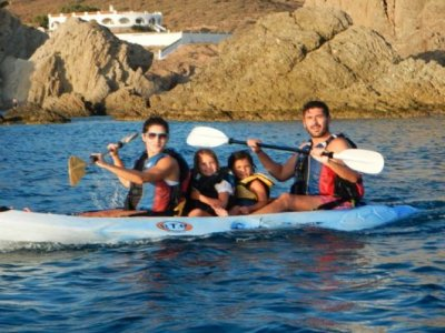 Kayak familiar en Cabo de Gata Adultos