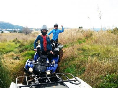 1h 30min ATV trip in Denia