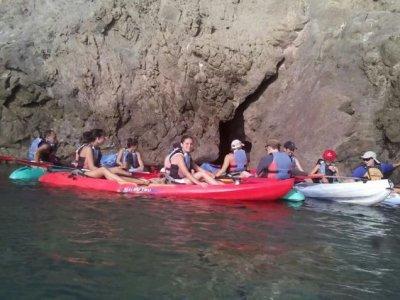 Kayak familiar en Almería Adultos 3 horas