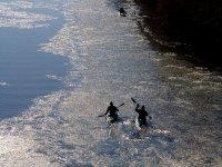 Piragüismo en el río Tiétar