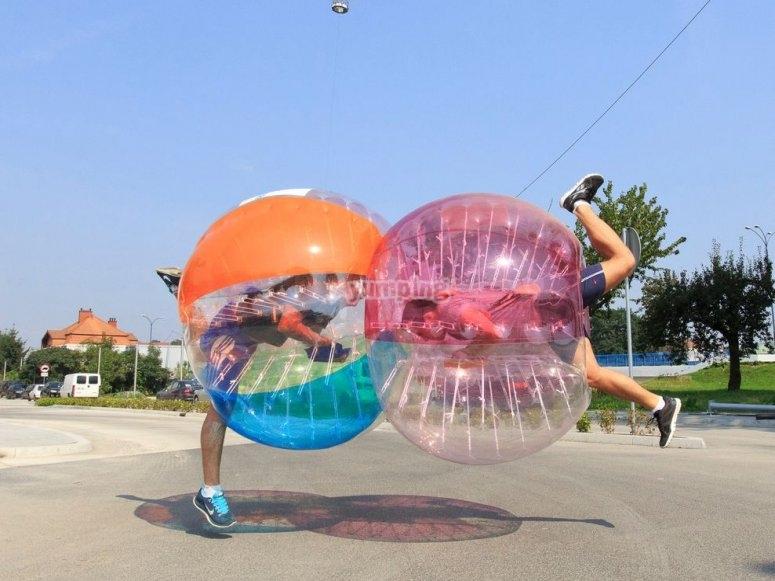 Futbol burbuja