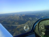 Flying over Benavente