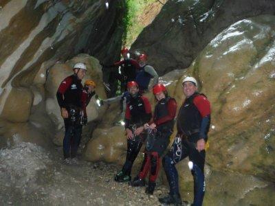 Canyoning a Río Verde Livello avanzato 7 ore