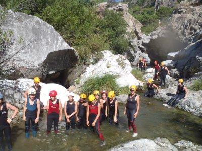 Iniziazione al canyoning a Guadalmina 3 ore