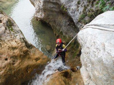 Canyon invernale a livello medio di Almanchares