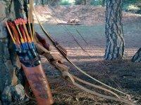 material imprescindible para practicar tiro con arco