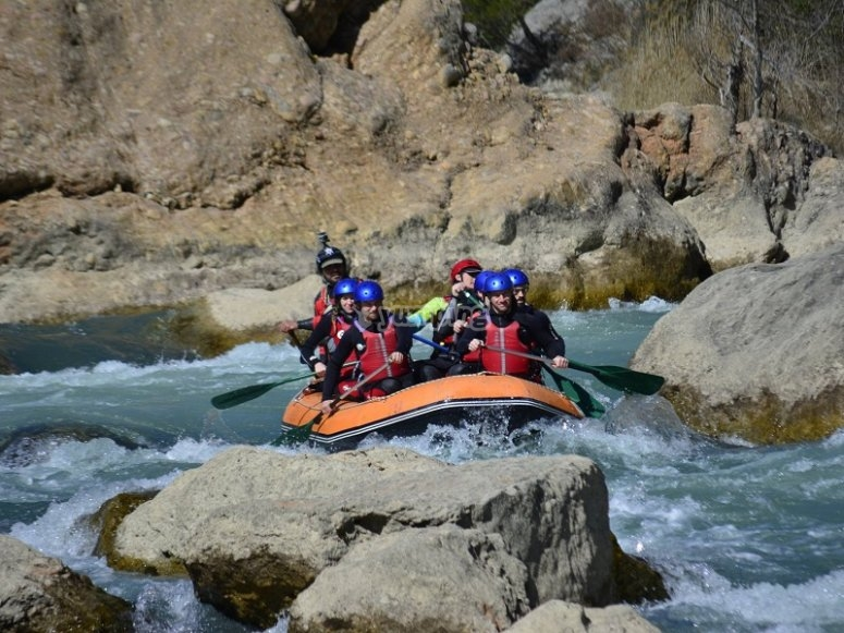 Rafting in Murillo de Gallego