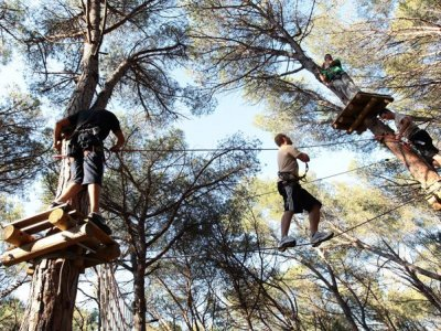 Multi-adventure circuit in Lloret del Mar, adults