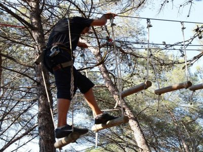 Multi-adventure circuit Girona, adults high level